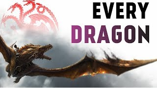 Every Targaryen Dragon (Game of Thrones Lore)