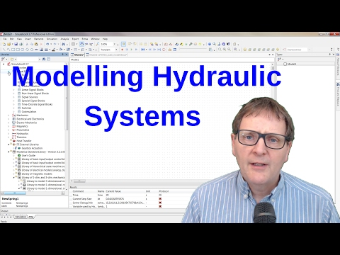 Hydraulic Modelling with Modelica & SimulationX