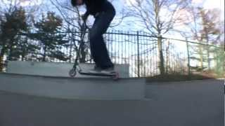 freestyle scooter TMV#2 team Mont Valérien