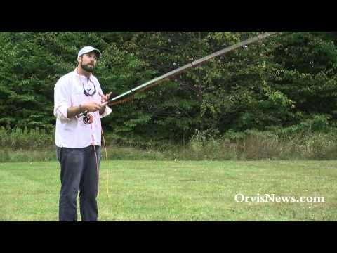 ORVIS - Fly Casting Lessons - Casting A Short Line