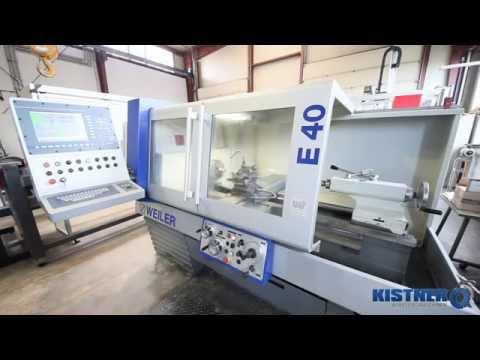 WEILER E40 - Kistner Werkzeugmaschinen