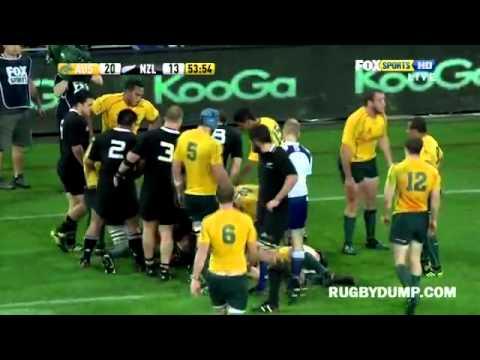 Quade Cooper knees Richie McCaw