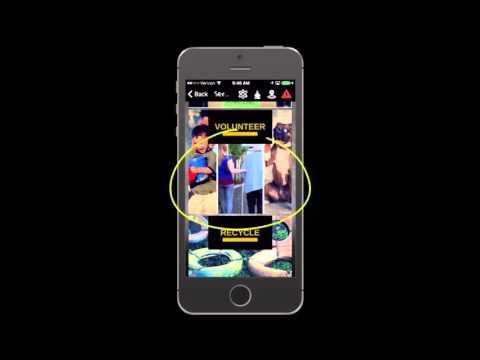 Quarky Mobile app demo for the Association of Economic Inclusion (AEI)