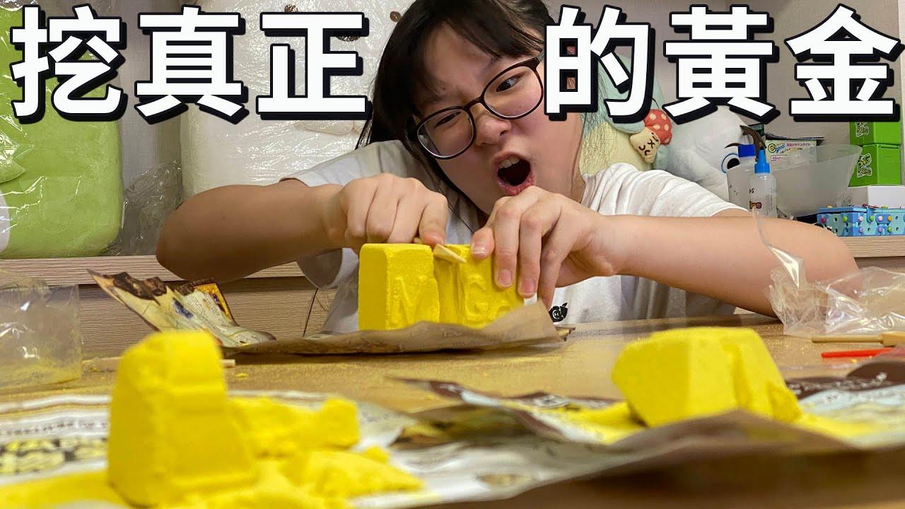 【開箱】可以挖出真正的黃金 挖掘尋寶 唐吉軻德 奇怪商品[NyoNyoTV妞妞TV]