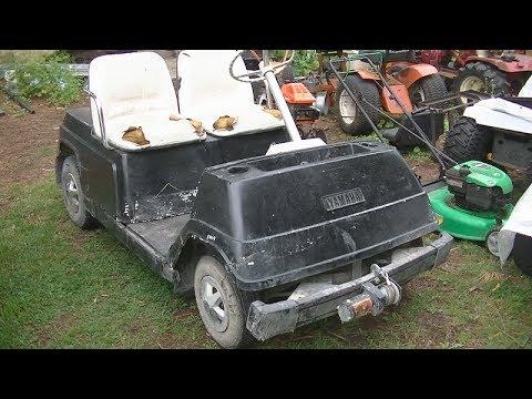Yamaha Golf English Tracker Boat Trailer Wiring Diagram G1 Cart Project Youtube