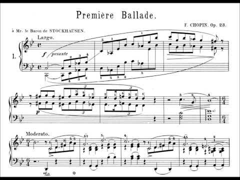 Chopin: Ballade Op.23 No.1 in G minor (Glemser)