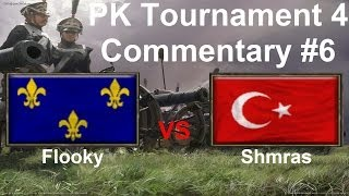 PK Tournament 4: Commentary #6 Flooky VS Shmras | Age of Empires III French VS Ottoman