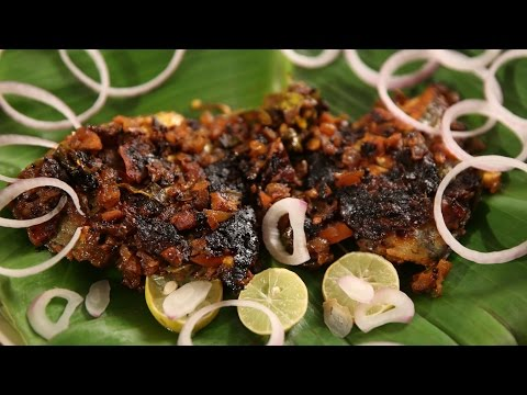 Fish Fry In Banana Leaf | South Indian Style Fish Fry Recipe | Masala Trails