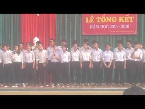 A1K13-ĐOÀN KẾT!!!! Kỉ niệm cuối cùng với THPT Mai Thúc Loan