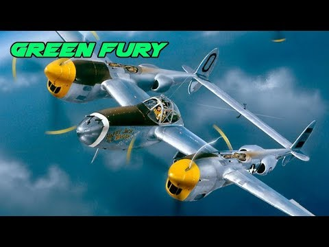Fight of the week - P38 E Vs P47D - War Thunder - Look ma no flaps
