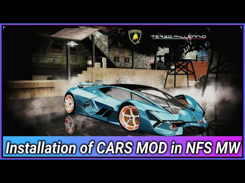 cách hack tiền trong need for speed most wanted 2005 - HOW TO ADD NEW CAR Lamborghini Terzo Millennio  IN NFS MOST WANTED 2005 + Modloader