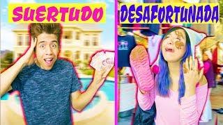 SUERTUDO VS DESAFORTUNADA - EL MUSICAL | Palomitas Flow !!!