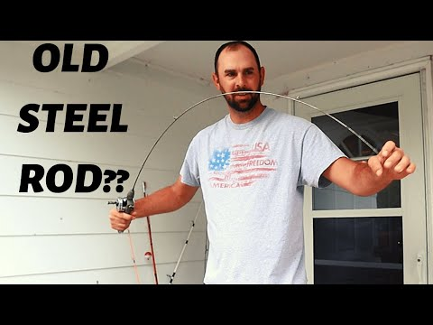 METAL Fishing Pole?   Fishing With Storm Swimbaits