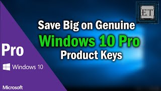 How to Get a Cheap Genuine Windows 10 Pro OEM Product Key | 2019