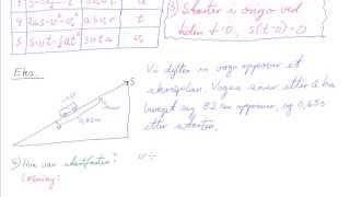 FYS2-004 Konstant akselerasjon