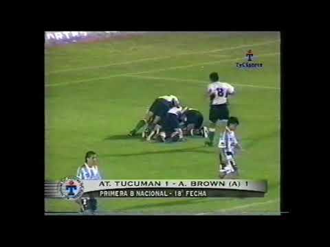 Atletico Tucuman 1 - 1 Almirante Brown Arrecifes (2001)