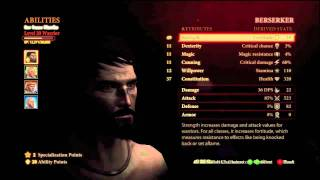 Dragon Age 2: Two Handed Warrior Guide