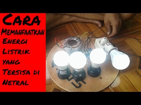 Free Energy : Cara Memanfaatkan Netral Electrical