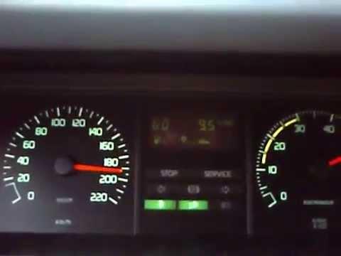 Renault 25 GTX 2 2L 205 Kms/h. 127.38mph