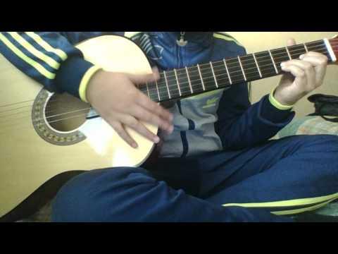 Humood AlKhudher -كن انت - حمود الخضر | Kun anta ( Guitar lesson débutant )