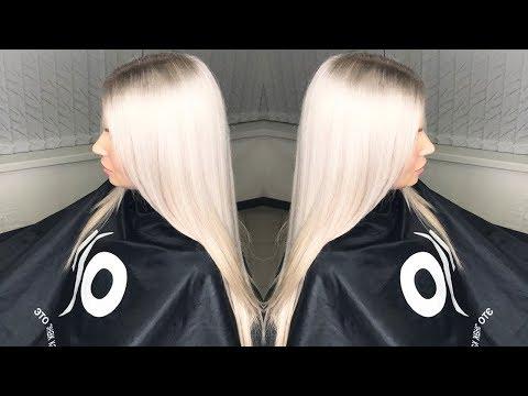 Как добиться платинового блонда