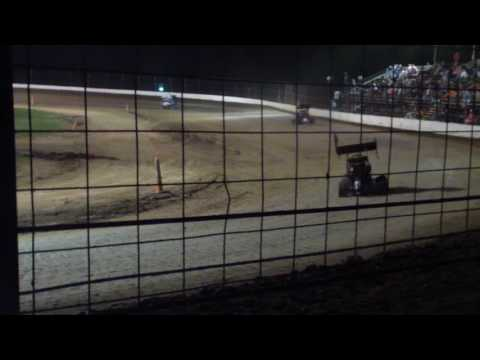 Aaron Jesina, Jesina Racing, Restricted Feature at Sweet Springs Motorsports Complex