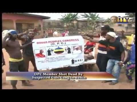 OPC Member Shot Dead By Suspected Cult Gang In Benin