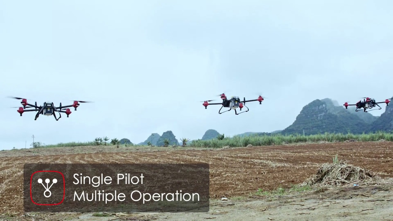 Crop Spraying Drone for Precision Agriculture