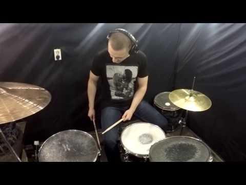Crossfaith - Tears Fall - Drum Cover