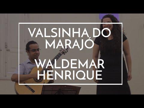 Valsinha Do Marajó - Waldemar Henrique - Anderson Reis & Valquíria Gomes Gravação:set/2016