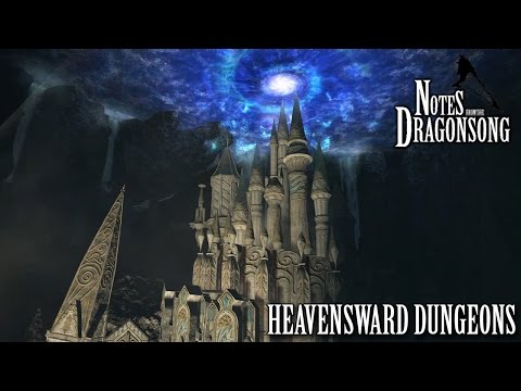 FFXIV OST Dungeons of Heavensward ( Notes From the Dragonsong )
