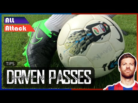 Long Pass Technique Football, Driven Passes | Tips