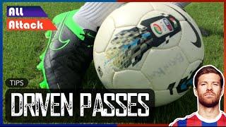 Long Pass Technique Football, Driven Passes | Tips