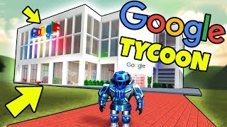 MY OWN GOOGLE FACTORY! -Danish Roblox: Google Factory Tycoon