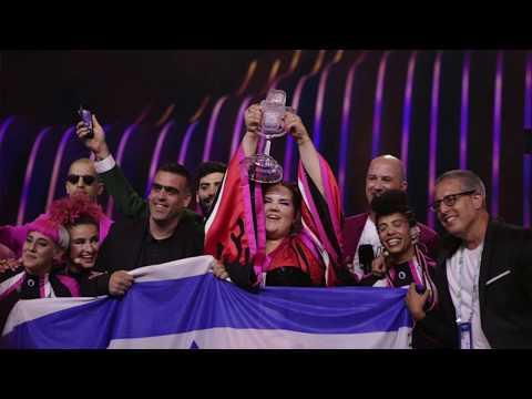 """Победителем """"Евровидения 2018"""" стал Израиль!из YouTube · Длительность: 2 мин24 с"""