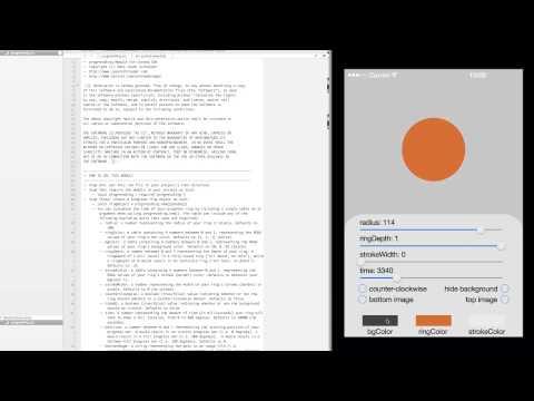 Progress Ring Module for Corona SDK – Jason Schroeder App
