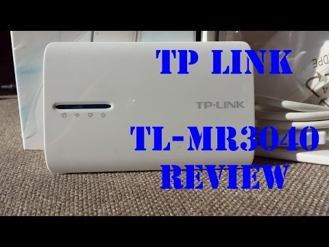 TP LINK TL-MR3040 - Review (SPEED & PING TEST)