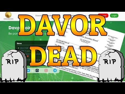 Davor Dead! RIP Davor Lending