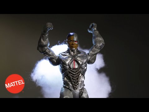 Join The League- Mattel Cyborg Figure