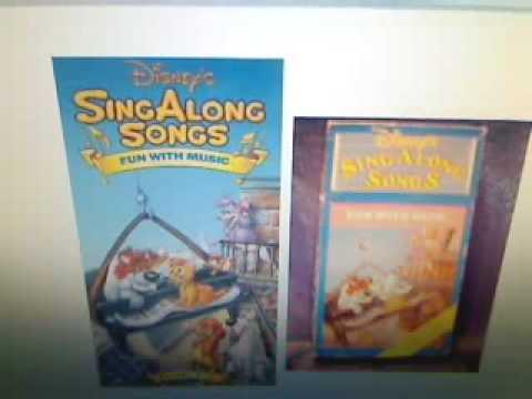Disney Sing Along Songs  Fun With Music