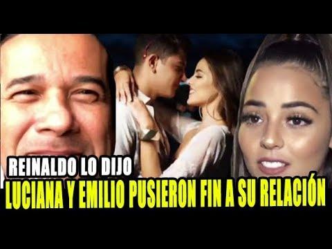 REINALDO DOS SANTOS REVELO EL FIN DEL ROMANCE ENTRE LUCIANA Y EMILIO JAIME