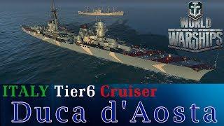 【WoWs】イタリア艦Duca D'Aosta(ドゥーカ・ダオスタ)でAsia鯖を征く 【World of Warships】[HD]