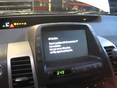 Gen 2 Prius Bad 12v Battery Symptoms Youtube