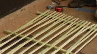 Bamboo Wattle And Daub