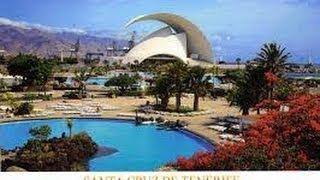 les Canaries Tenerife Santa Cruz capitale de l'ile de Ténérife