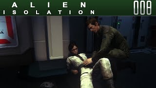 👽 ALIEN ISOLATION [008] [Hilfe für Taylor] Let's Play Gameplay Deutsch German thumbnail