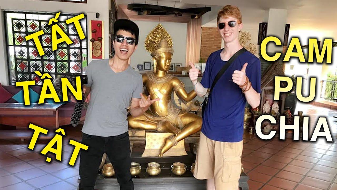 [VLOG#2]: Đồ ăn Campuchia NGON BỔ nhưng KHÔNG RẺ – Kinh nghiệm du lịch ở Siem Reap, Campuchia