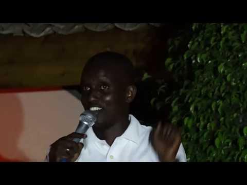 Kigingi au Comedy 4 charity  à l'IFB