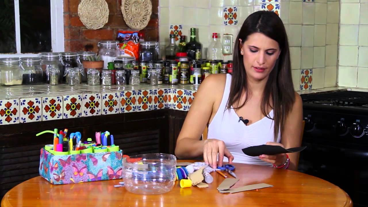 Maceta decorada youtube - Botellas de plastico decoradas ...