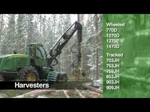 Harvester John Deere Forestry